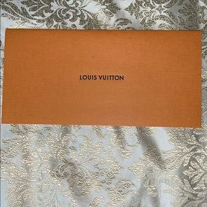Louis Vuitton envelope receipt holder